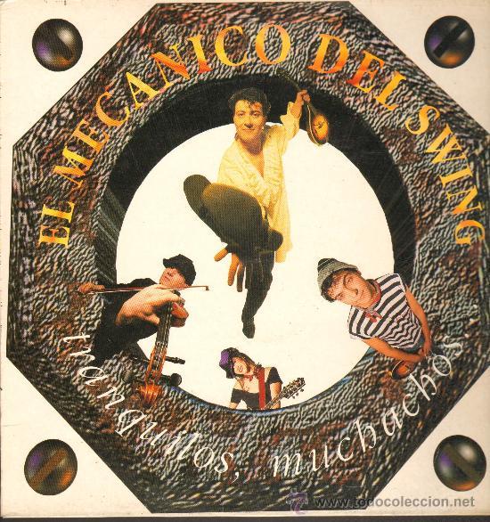 El Mecanico del Swing - Tranquilos muchachos. CD Albúm