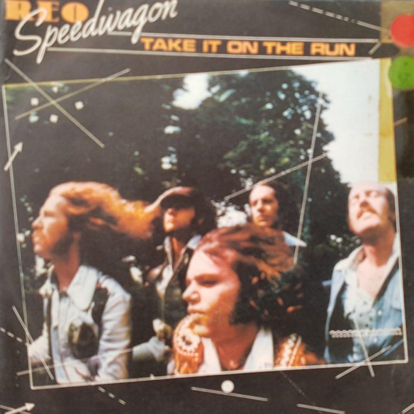Reo Speedwagon - Take It On The Run. Single vinilo 45 rpm