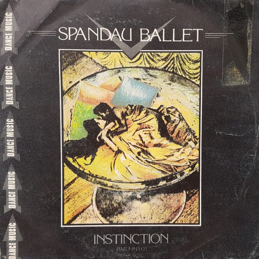 Spandau Ballet - Instinction. Single vinilo 45 rpm