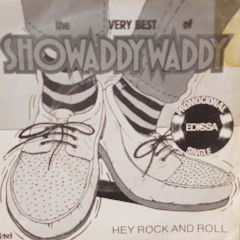 Showaddy Waddy - Hey Rock And Roll. Single vinilo 45 rpm