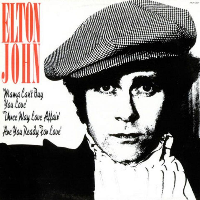 Elton John - Mama Cant Buy You Love. Single vinilo 45 rpm