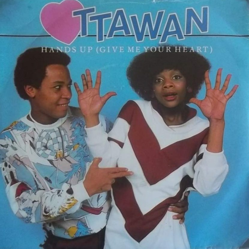 Ottawan - Hands Up (Give Me Your Heart) Single vinilo 45 rpm